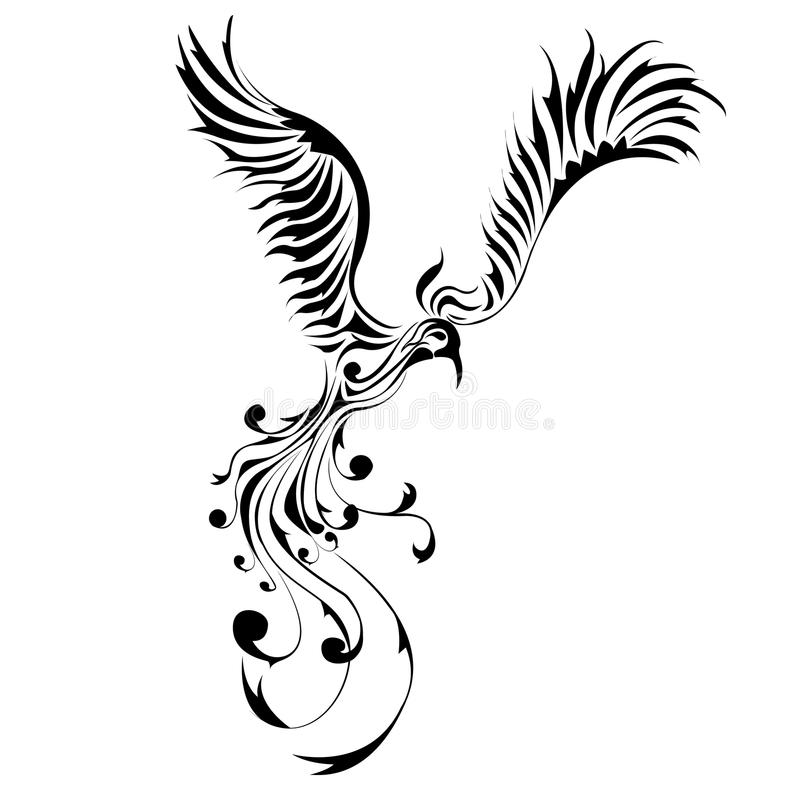 Phoenix royalty illustrazione gratis