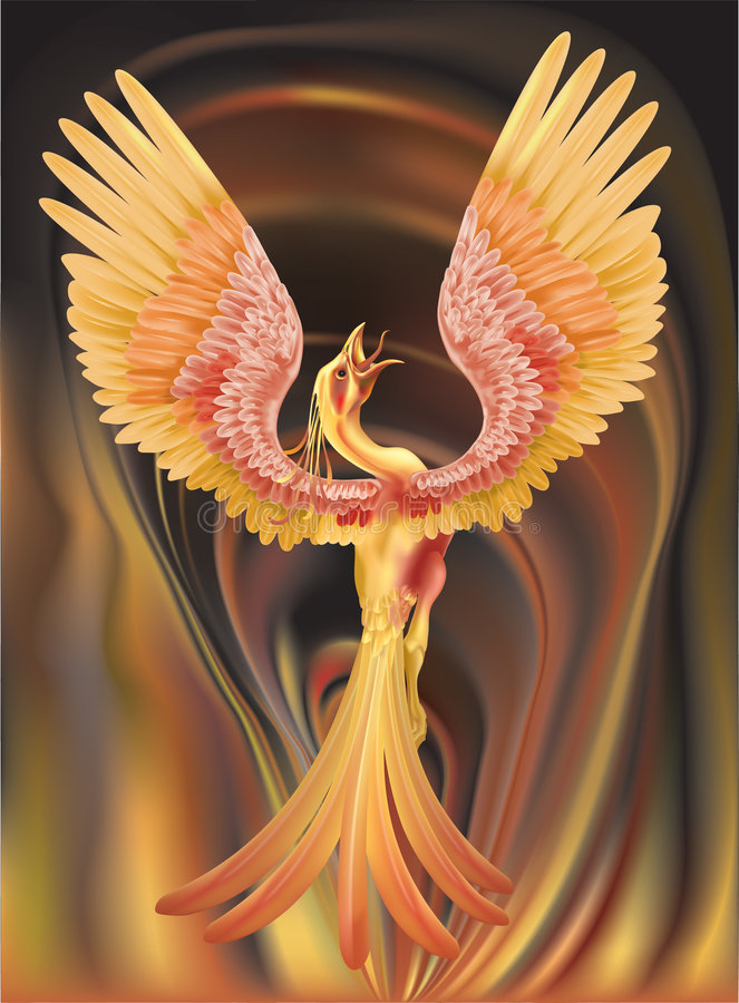 Phoenix vector illustratie
