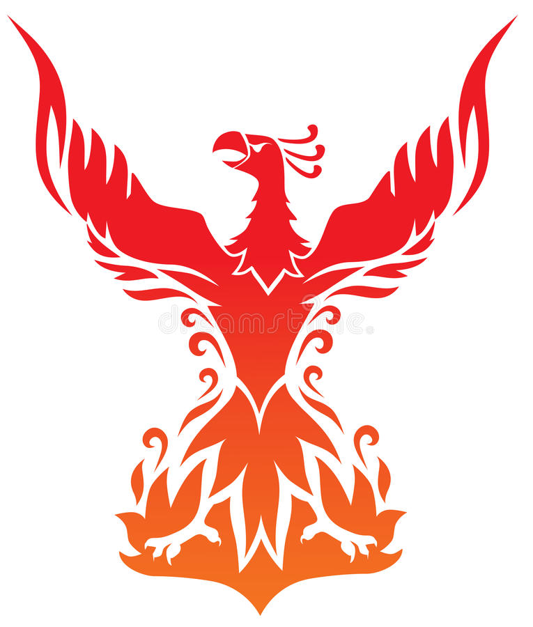 phoenix illustration libre de droits