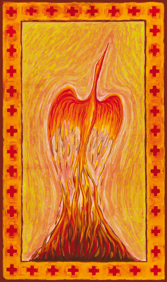 phoenix иллюстрация штока