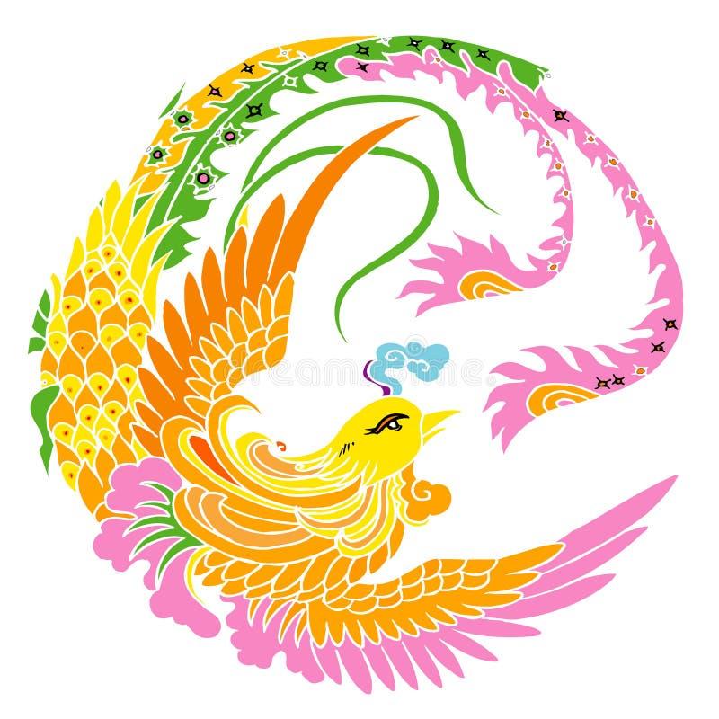 Phoenix vector illustratie
