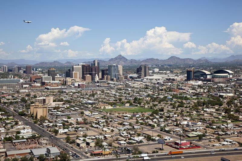 Phoenix, Arizona obrazy royalty free