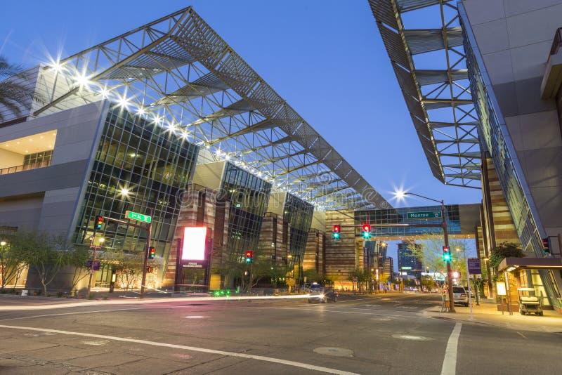 Phoenix Arizona Convention Center stock photos