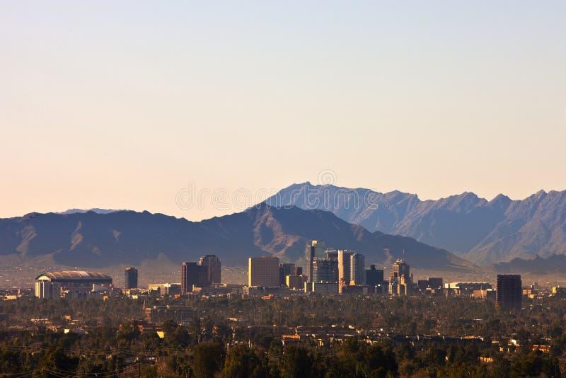 Phoenix, Arizona Skyline stock image