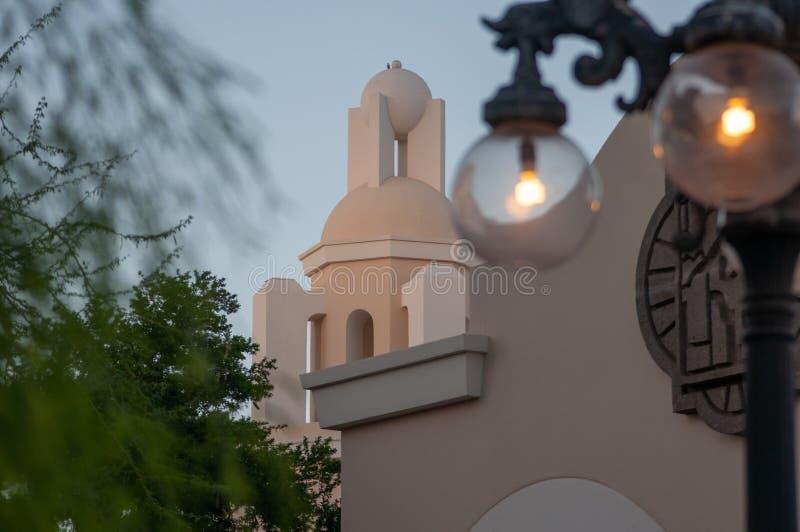 Phoenix, Arizona/USA - PhoenixRathaus ist in im Stadtzentrum gelegenem Phoenix stockfotografie