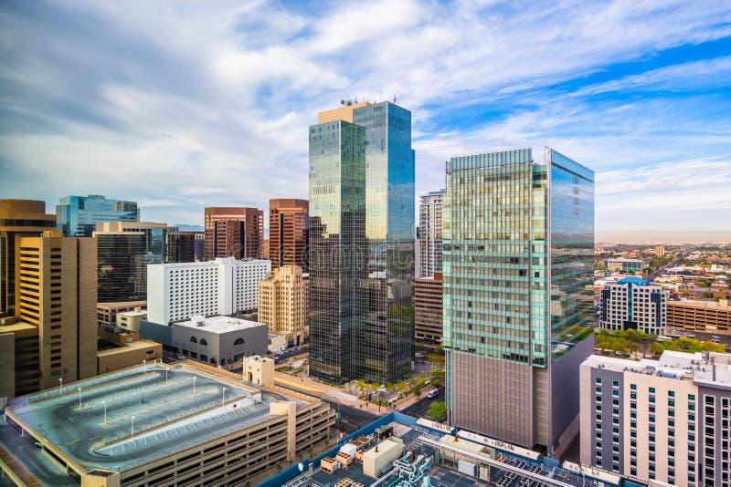 Phoenix, Arizona, USA-Stadtbild lizenzfreies stockbild