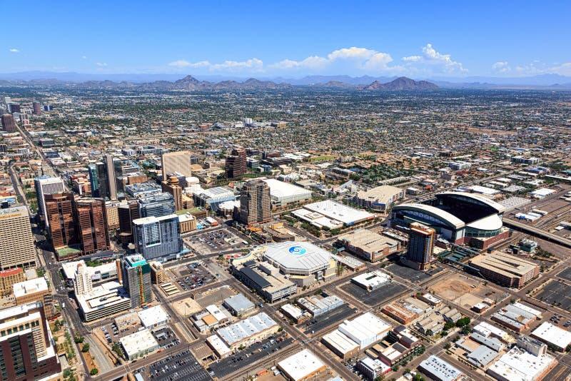 Phoenix, Arizona 30 V.S.-November, 2016 stock fotografie