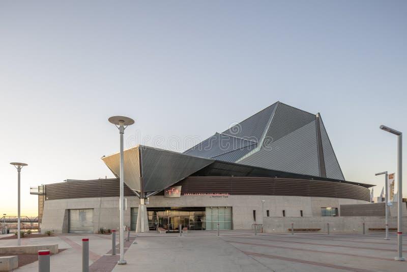 Phoenix, AZ, los E.E.U.U. - 9 de noviembre de 2016: Tempe Center para los artes fotos de archivo