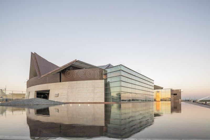 Phoenix, AZ, los E.E.U.U. - 9 de noviembre de 2016: Tempe Center para los artes fotografía de archivo libre de regalías