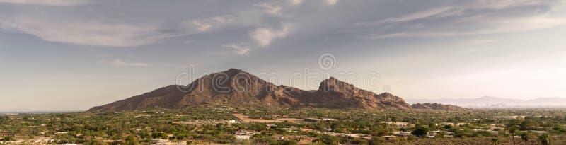 Phoenix, Az, montanha do Camelback, foto de stock