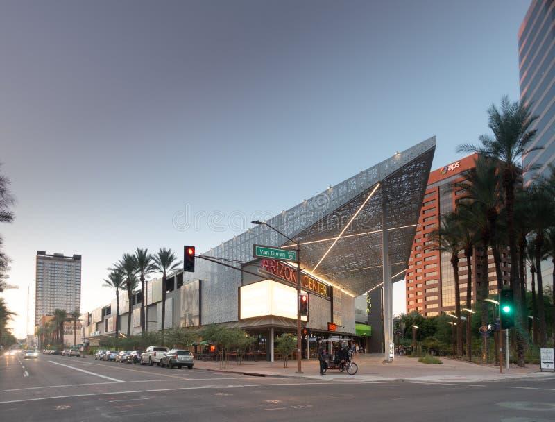 Arizona Center in downtown Phoenix, royalty free stock photography