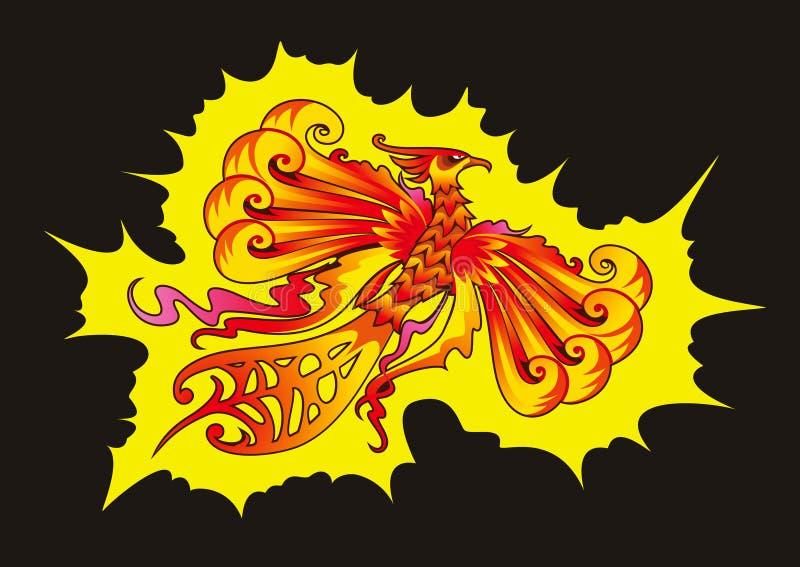 Download Phoenix bird stock vector. Illustration of flying, illustration - 25909212