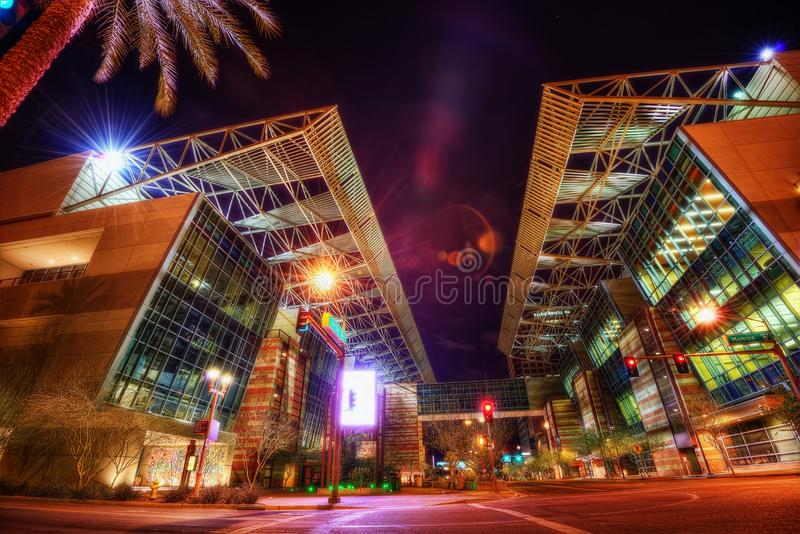 Phoenix Convention Center, USA arkivfoton