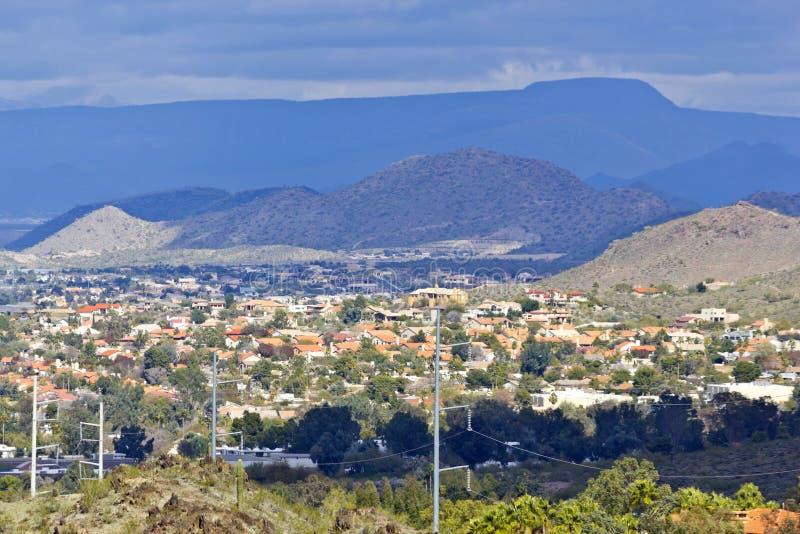 Phoenix do norte, AZ fotos de stock royalty free