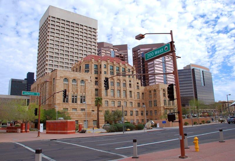 Phoenix downtown royalty free stock image