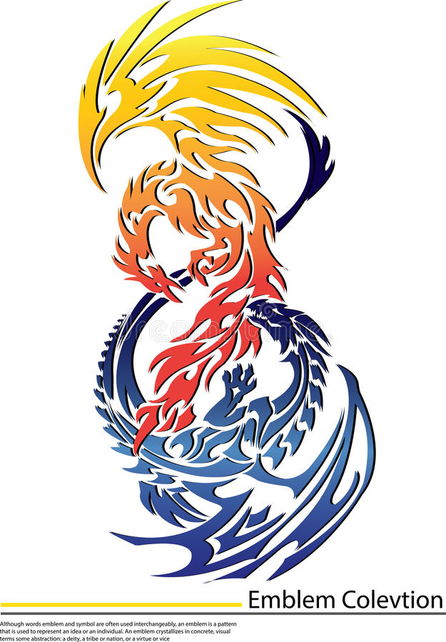Download Phoenix And Dragon Stock Photos And Images Stock Photography - Image: 31972572