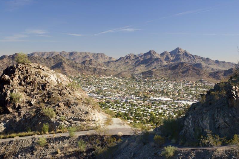 Phoenix, East Side, AZ stock photo