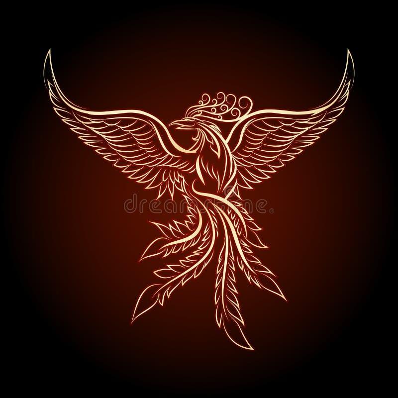 Phoenix Ebmlem royalty ilustracja