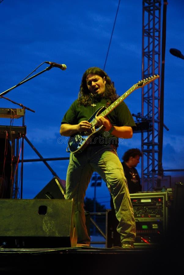 Phoenix en concierto fotografía de archivo