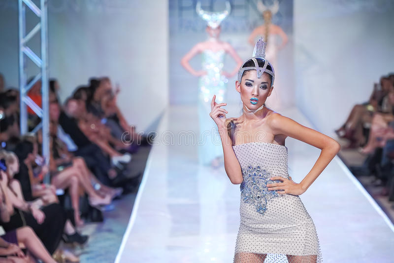 2012 Phoenix Fashion Week Runway Shows Editorial Image