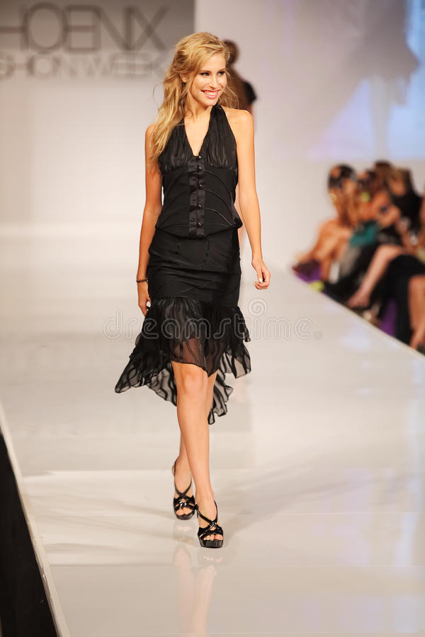 Download Phoenix Fashion Week Thursday Runway Shows Editorial Stock Photo - Image: 27256958