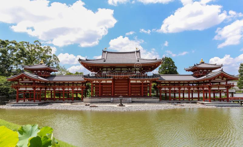 Phoenix Hall of the Byodo-in Temple royalty free stock photo