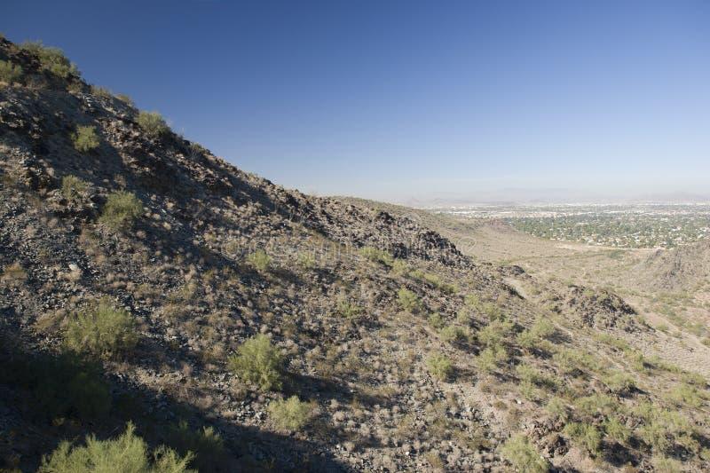 Phoenix, lado norte, AZ foto de stock royalty free