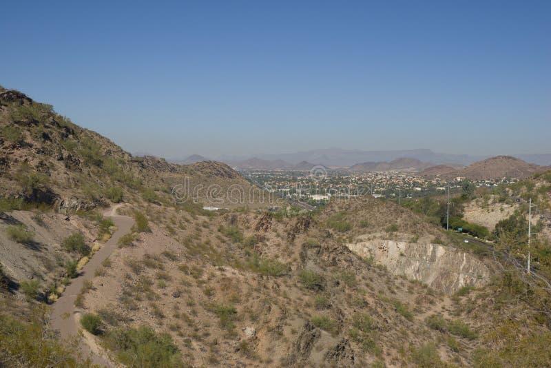 Phoenix, lado norte, AZ fotografia de stock royalty free