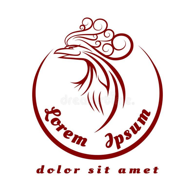 Phoenix logo ilustracja wektor