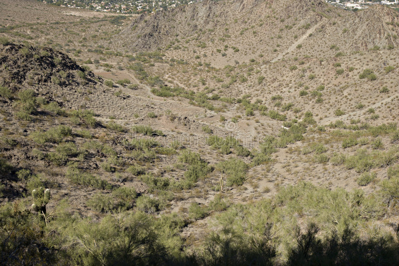 Phoenix, North Side, AZ stock photography