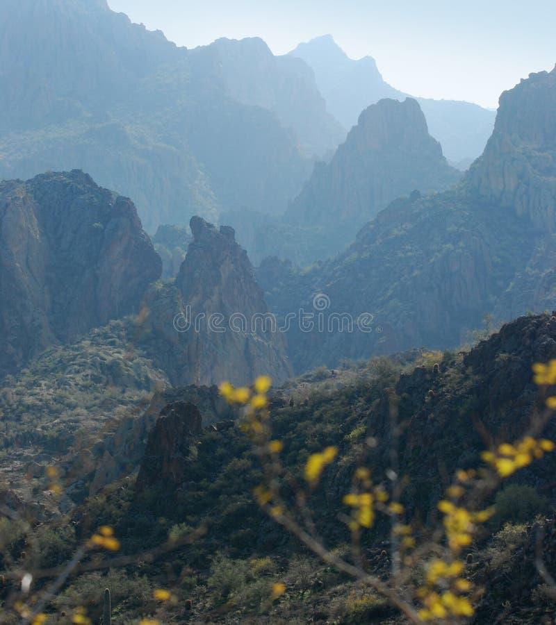 Phoenix, o Arizona. Cenário da fuga de Apache imagem de stock royalty free