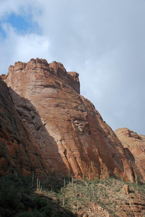 Phoenix, o Arizona. Cenário da fuga de Apache imagem de stock