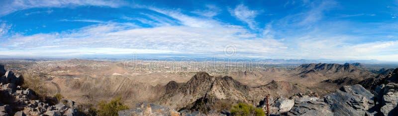 Phoenix, panorama di AZ immagini stock libere da diritti