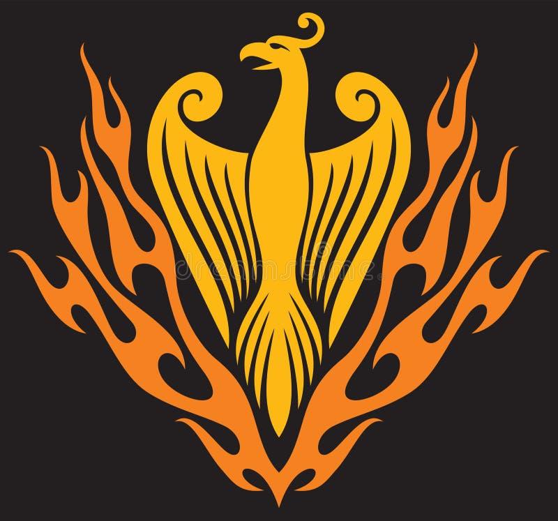 Phoenix ptak ilustracji
