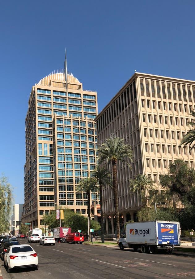 Phoenix urzędu miasta wierza fotografia royalty free