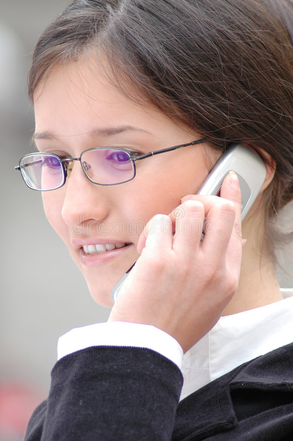 Download On the phone stock photo. Image of challenge, development - 111570