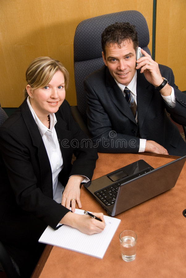 Download On The Phone Royalty Free Stock Image - Image: 2097456
