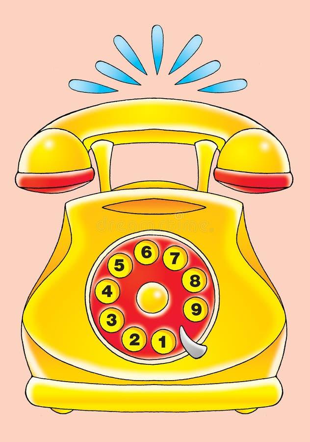 Phone royalty free illustration