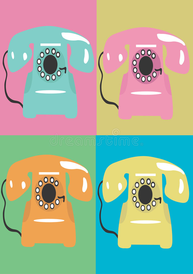 Phone stock illustration