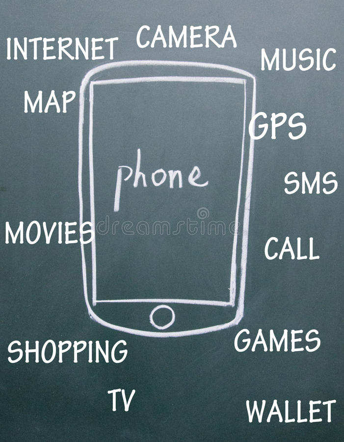 Download Phone APP stock image. Image of abstract, button, application - 25637323