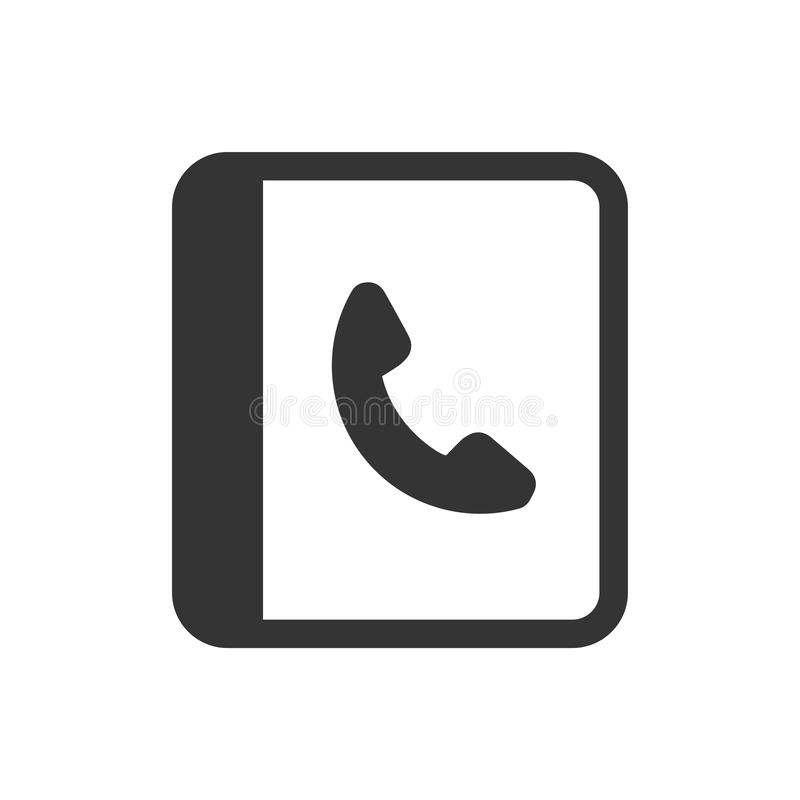 Phone Book Icon royalty free illustration