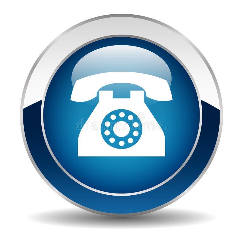 Phone button stock illustration