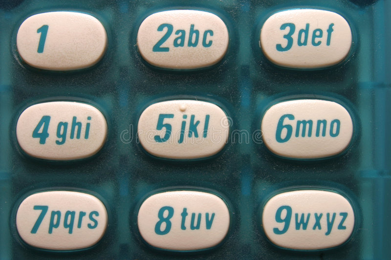 Download Phone Buttons stock image. Image of alphabet, number, buttons - 14387