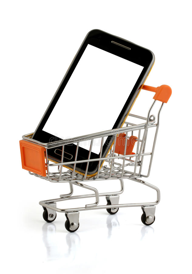 Download Phone buy stock photo. Image of card, sale, payment, basket - 32268566