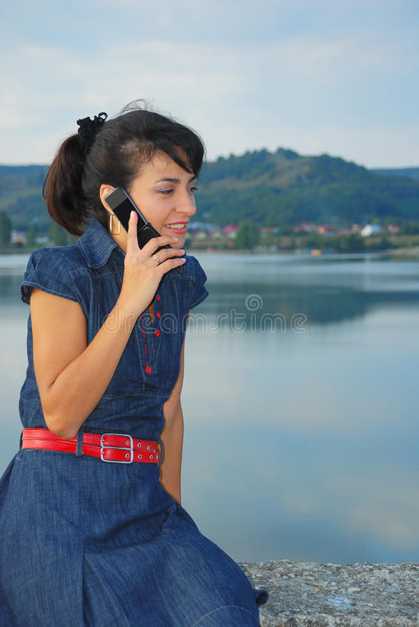 Download Phone call stock image. Image of cell, nature, listen - 11072897