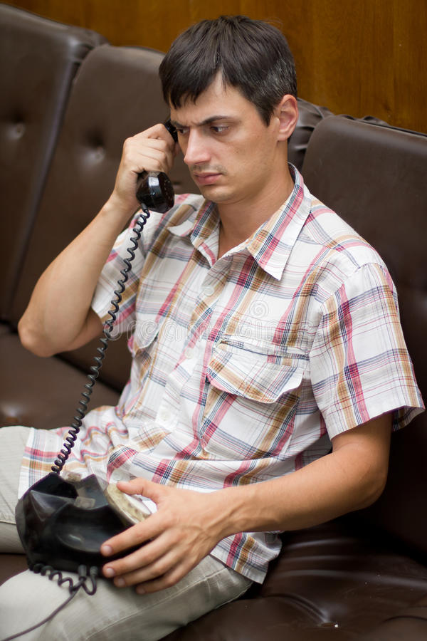 Download Phone call stock photo. Image of news, business, white - 25886776