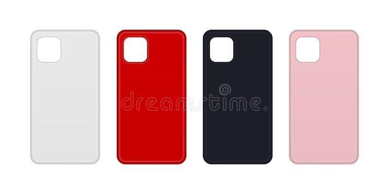 Phone cases. stock image