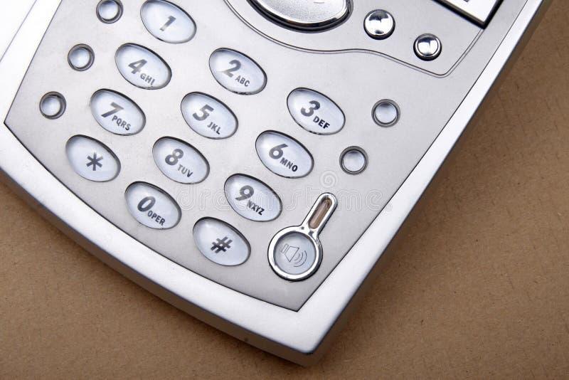 Phone close-up stock image