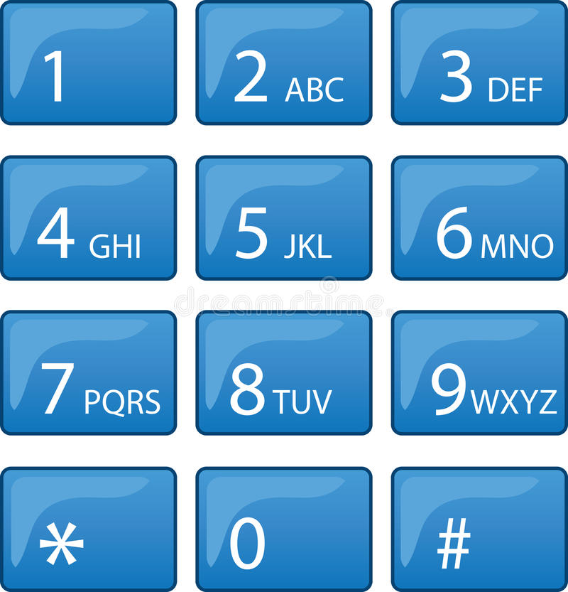 Free Phone Dial Pad Stock Photography - 28083702