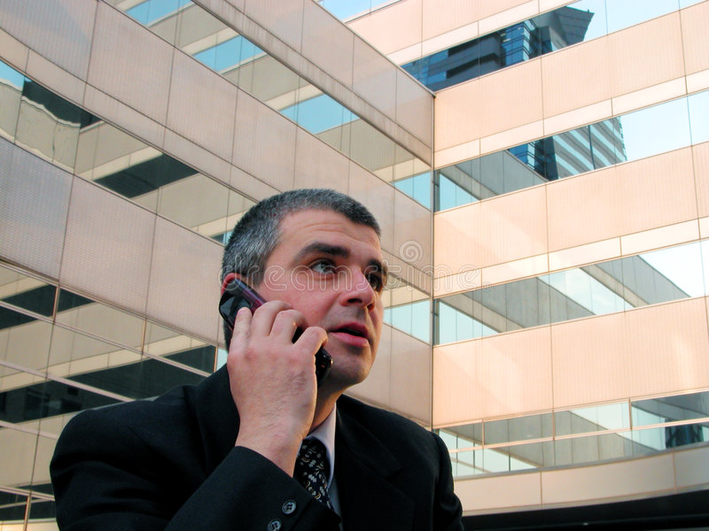Download Phone discussion stock image. Image of speaking, city, modern - 108999